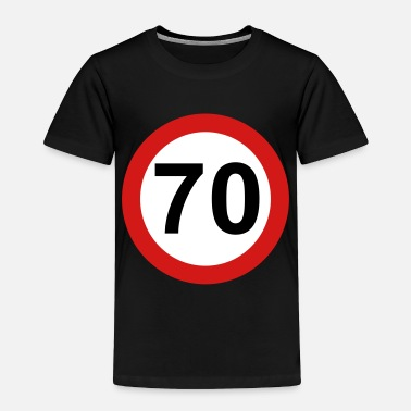 70s 70 - Toddler Premium T-Shirt
