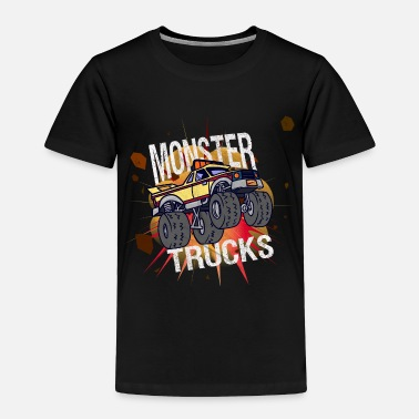 Monster Truck Monster Trucks Vintage Shirt Kids - Toddler Premium T-Shirt
