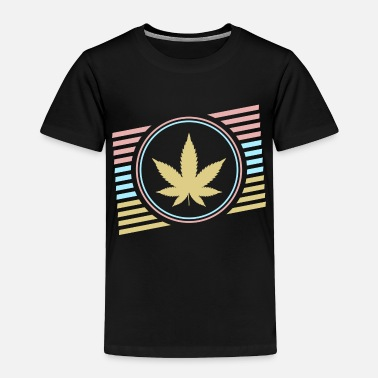 Smoking Cannabisleaf - Toddler Premium T-Shirt