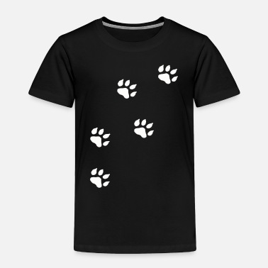 Paw Print Paw Prints - Toddler Premium T-Shirt