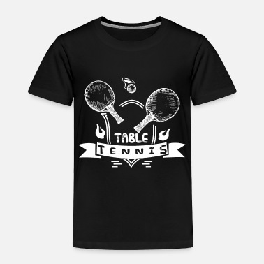 Court table tennis ping pong - Toddler Premium T-Shirt