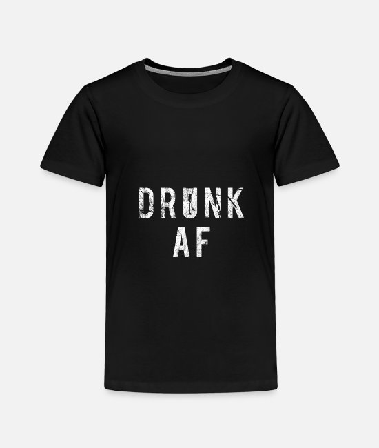 Wine T-Shirts - Alcohol liquor gift idea - Toddler Premium T-Shirt black