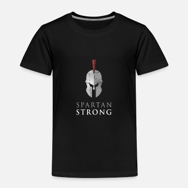 Greece Spartan Strong - Toddler Premium T-Shirt