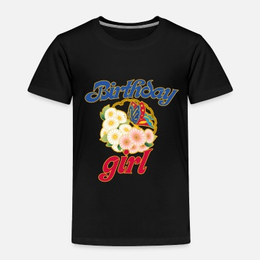 Birthday Party Retro birthday girl for birthday party - Toddler Premium T-Shirt