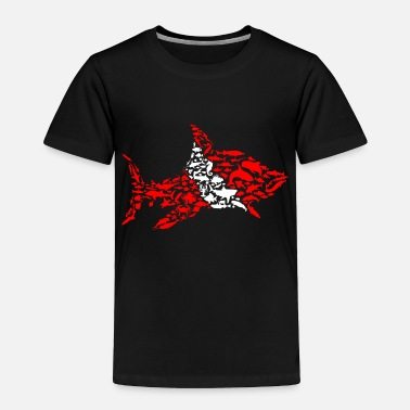 Buceo SHARK FLAG Diving/Tauchen/busseig/Mergulho/Buceo - Toddler Premium T-Shirt
