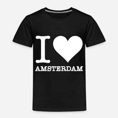Netherlands my love is amsterdam 2 - Toddler Premium T-Shirt