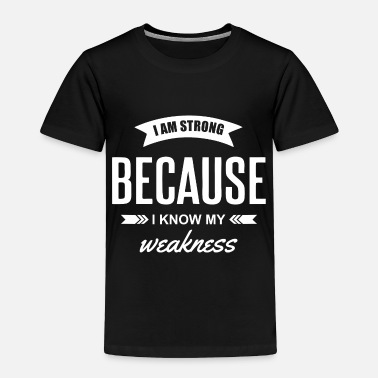 Schmo I m Strong - Toddler Premium T-Shirt