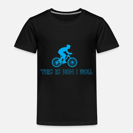 This Guy Needs A Beer Baby Clothing - 03 this is how i roll copy - Toddler Premium T-Shirt black