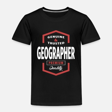 Geographic Geographer - Toddler Premium T-Shirt