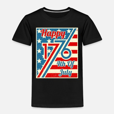 Hammer Happy 4th Of July 1776 Independence Day - Toddler Premium T-Shirt