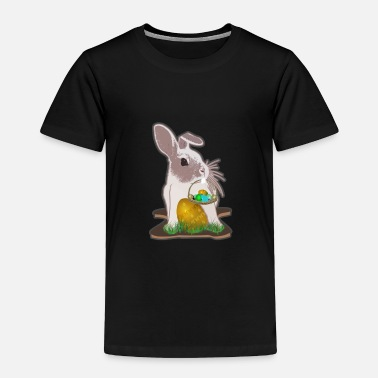 Easter Basket Easter bunny with Easter basket - Toddler Premium T-Shirt