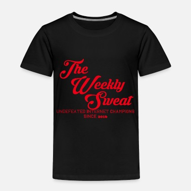 The Weekly Sweat Varsity Edition - Toddler Premium T-Shirt