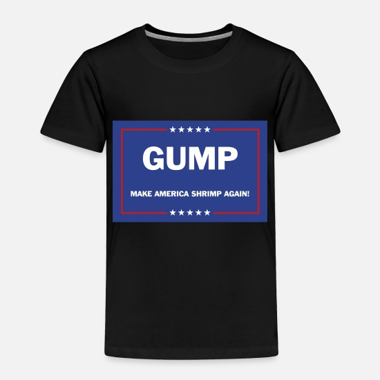 President Baby Clothing - GUMP campaign - Toddler Premium T-Shirt black