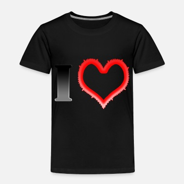 I Heart I Heart... - Toddler Premium T-Shirt