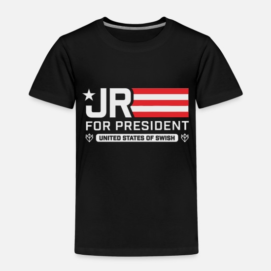 Trump Baby Clothing - JR Smith For President - Toddler Premium T-Shirt black