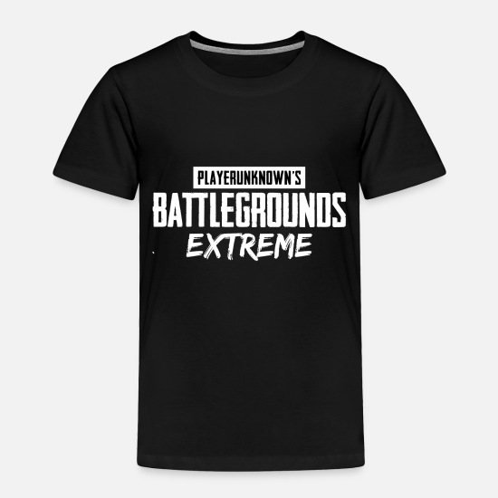 Battlegrounds Baby Clothing - Battlegrounds Extreme 2 - Toddler Premium T-Shirt black