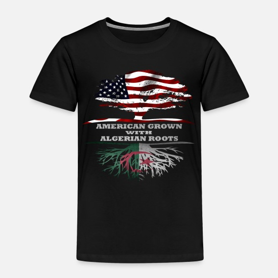 Algeria Baby Clothing - Algeria - Toddler Premium T-Shirt black
