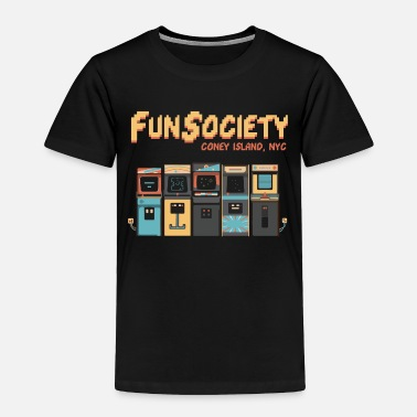 Fun Fun Society | mr-robot.tv - Toddler Premium T-Shirt
