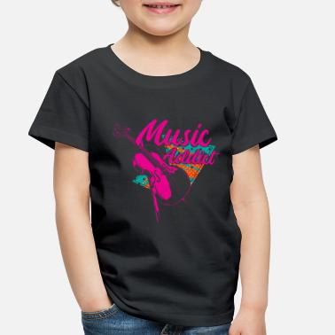 Abstract Music Cello Music Gift - Toddler Premium T-Shirt