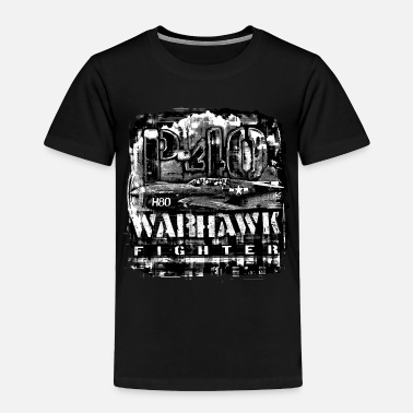 P-40 Warhawk - Toddler Premium T-Shirt