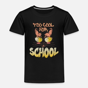 Hangover Cat School Gift - Toddler Premium T-Shirt