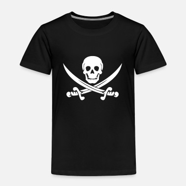 Pirate PIRATE (wht) - Toddler Premium T-Shirt