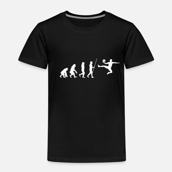 Witty Baby Clothing - Handball - Toddler Premium T-Shirt black
