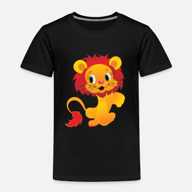 Isolated isolated lion - Toddler Premium T-Shirt