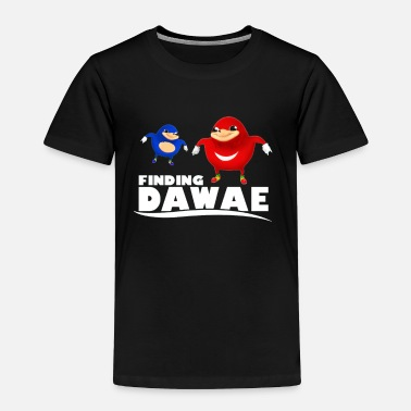 Meme Finding Da Wae - Toddler Premium T-Shirt