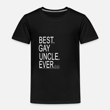 Uncle Funny Uncle Gay Tshirt - Toddler Premium T-Shirt