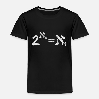 Mathematics continuum hypothesis math mathematics axiomatics - Toddler Premium T-Shirt