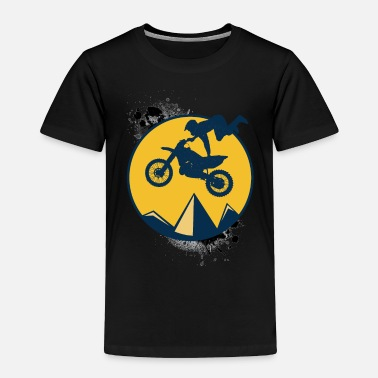 Bike Dirt Bike Enthusiast - Toddler Premium T-Shirt