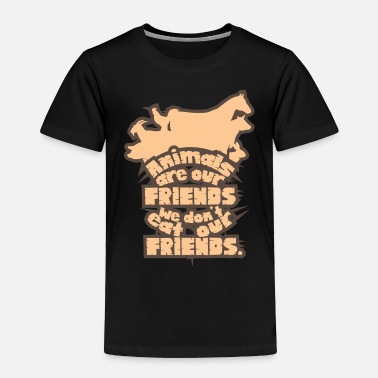 Animal Welfare Animal welfare vegetarian vegan animals - Toddler Premium T-Shirt