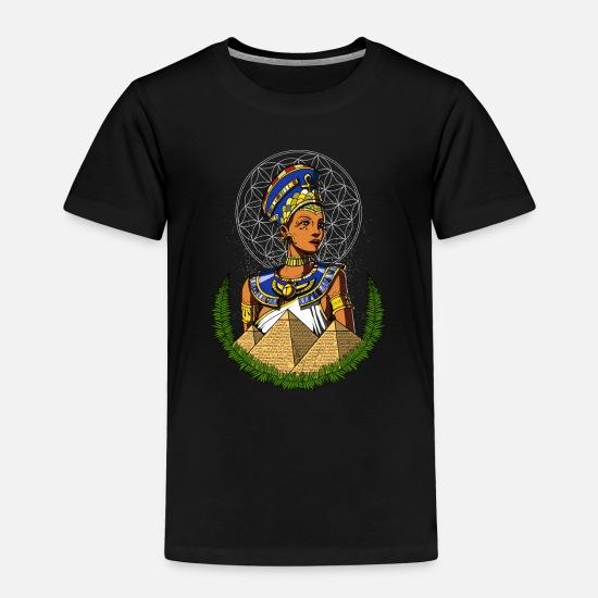 Egyptian Queen Nefertiti Ancient Mythology Toddler Premium T-Shirt