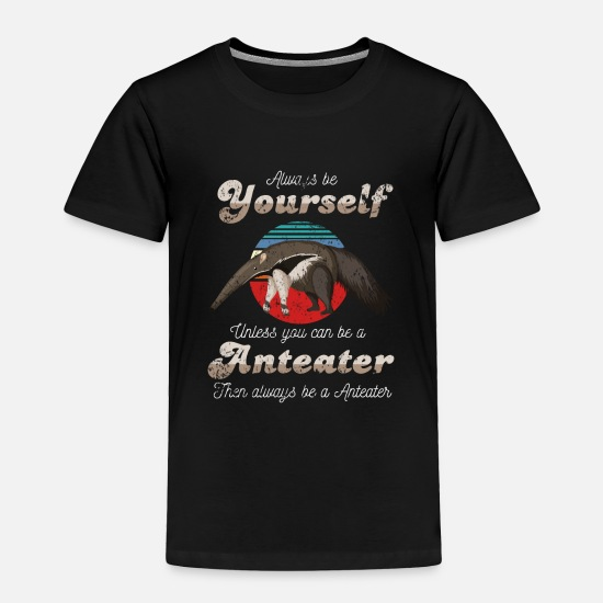 Wild Baby Clothing - Anteater - Toddler Premium T-Shirt black