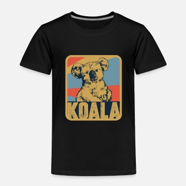 Fur Koala Retro - Toddler Premium T-Shirt