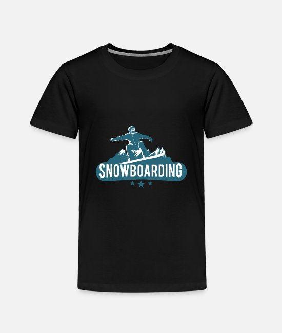 Freeride T-Shirts - Snowboarding - Toddler Premium T-Shirt black