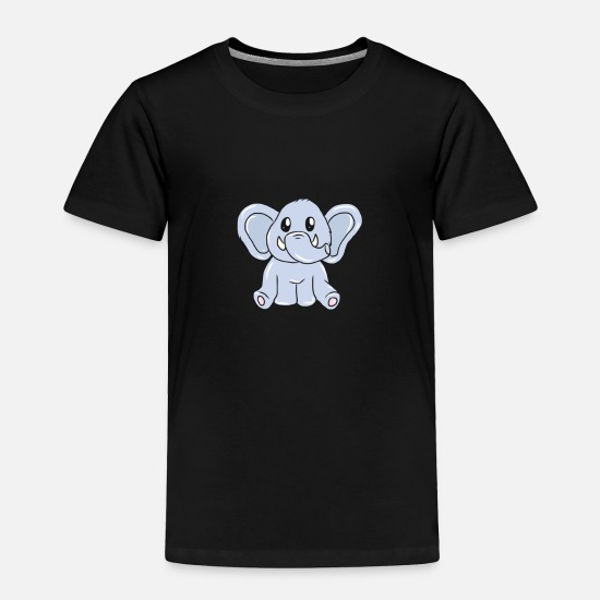 Gift Idea Baby Clothing - Elephant - Toddler Premium T-Shirt black
