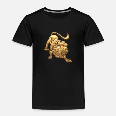 Zodiac ZODIAC SIGN LEO GOLD - Toddler Premium T-Shirt