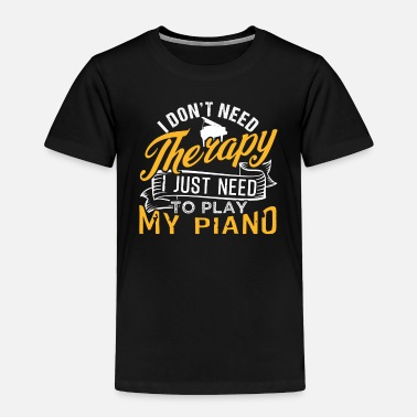 Music Symbols Piano - Toddler Premium T-Shirt