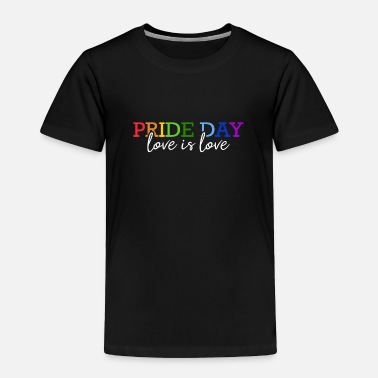 Pride day LGBT Gay Pride Queer Rainbow Love CSD - Toddler Premium T-Shirt