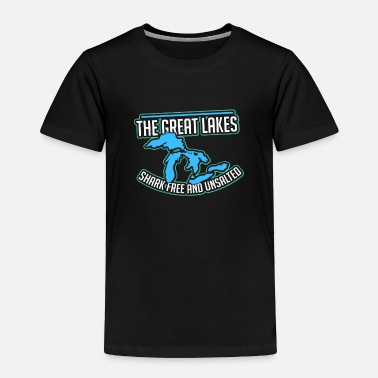 Lake Lake - The Great Lakes - Toddler Premium T-Shirt
