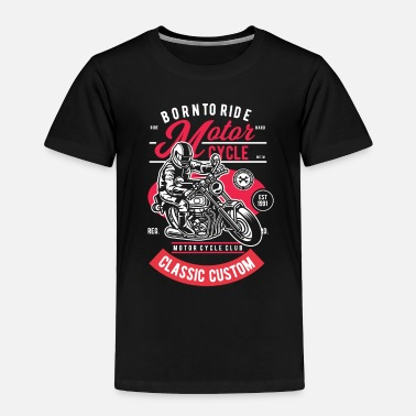 Motocross Motorcycle Rider - Toddler Premium T-Shirt