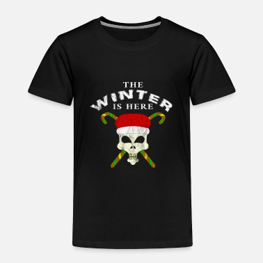 Turn Wintertime Snowflake Christmas Gift Ice Cream - Toddler Premium T-Shirt