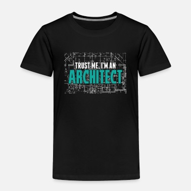 Mathematics Architect Architecture - Toddler Premium T-Shirt