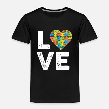 Piece Love of the Puzzle - Toddler Premium T-Shirt