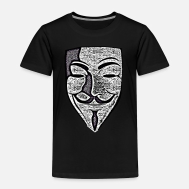Anonymous Anon Effect Mask - Toddler Premium T-Shirt
