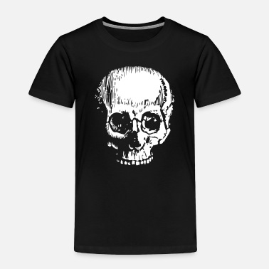 Large Large Skull - Toddler Premium T-Shirt