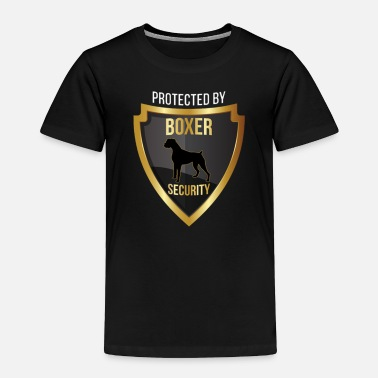 Protected by Boxer Security - Toddler Premium T-Shirt