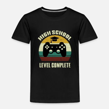 Highheels 2019 High School Graduation Shirt Gamer Graduation - Toddler Premium T-Shirt